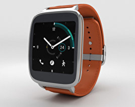 3D model of Asus ZenWatch Orange