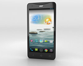 3D model of Acer Liquid S1 Black