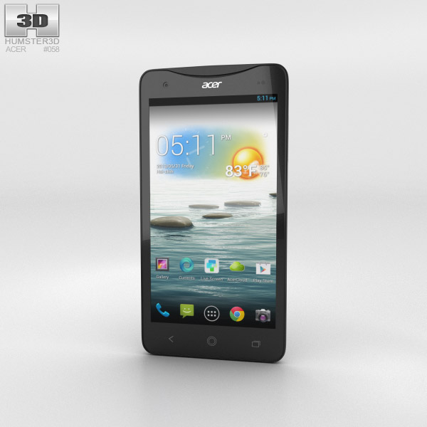 Acer Liquid S1 Black 3D model