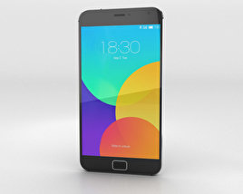 3D model of Meizu MX4 Pro Gray