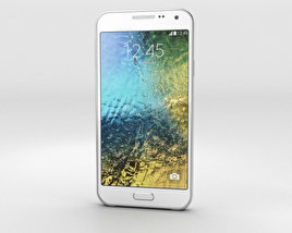 3D model of Samsung Galaxy E5 White