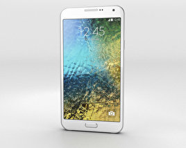 3D model of Samsung Galaxy E7 White