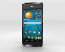 3D model of Acer Liquid E600 Black