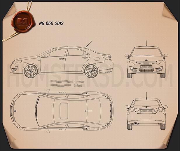 MG 550 2012 Blueprint