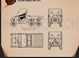 Polaris Ranger 6×6 2014 Blueprint