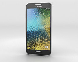 3D model of Samsung Galaxy E5 Black