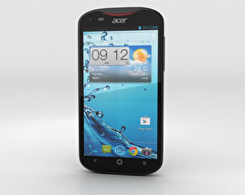 3D model of Acer Liquid E2 Black