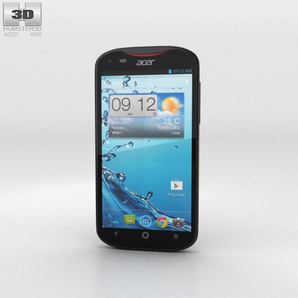 Acer Liquid E2 Black 3D model