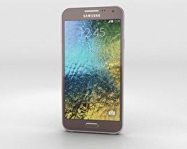 Samsung Galaxy E5 Brown 3D model