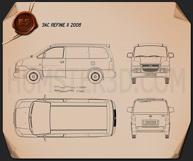 JAC Refine II 2006 Blueprint