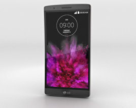 3D model of LG G Flex 2 Flamenco Red