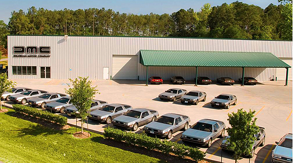 new headquarters of the DeLorean Motor Company in Texas
