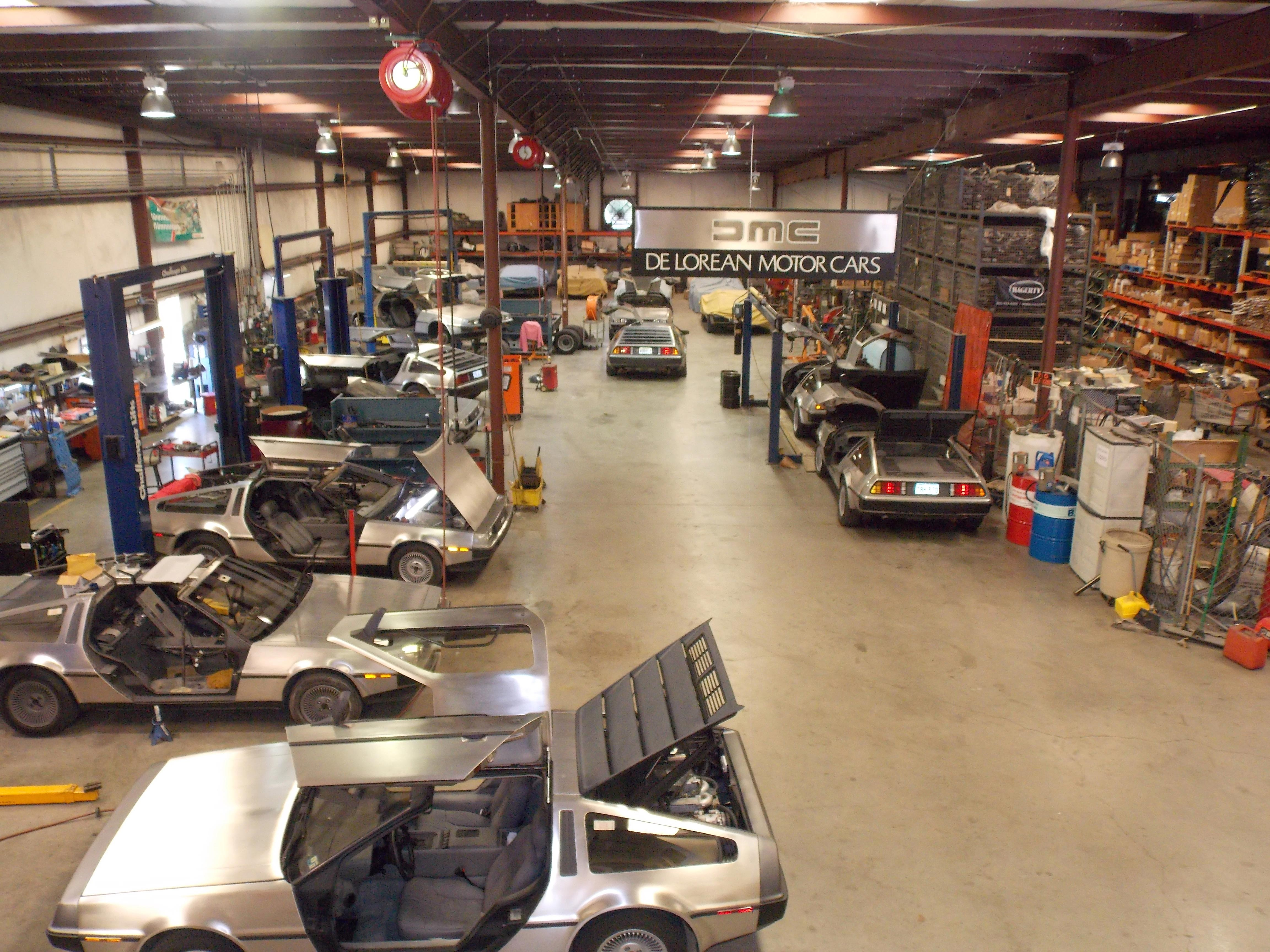 every day many fans of DeLorean and just curious tourists visit the factory
