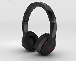 3D model of Beats by Dr. Dre Solo2 Wireless Headphones Black