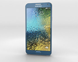 3D model of Samsung Galaxy E7 Blue