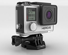 3D model of GoPro HERO4 Black