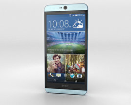 3D model of HTC Desire 826 Blue Lagoon