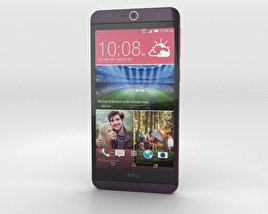 3D model of HTC Desire 826 Purple Dark