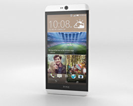 HTC Desire 826 White Birch 3D model