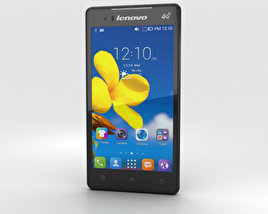 3D model of Lenovo A788T Black