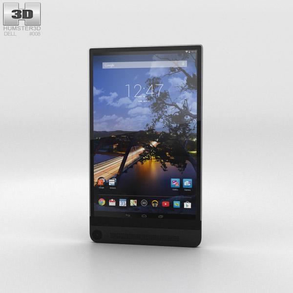 3D model of Dell Venue 8 7000 Black