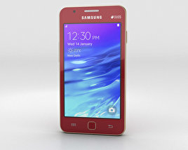3D model of Samsung Z1 Wine Red