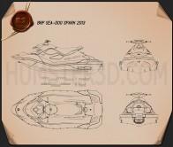 BRP Sea-Doo Spark 2013 Blueprint