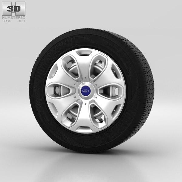 Ford Kuga Wheel 17 inch 001 3d model