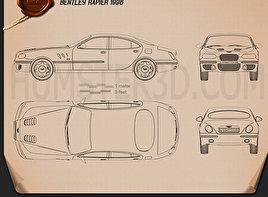 Bentley Rapier 1996 Blueprint