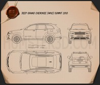 Jeep Grand Cherokee Summit 2014 Blueprint