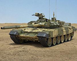 3D model of T-90