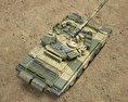 T-90 3d model