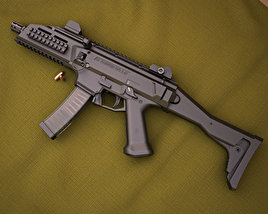 3D model of CZ Scorpion EVO 3