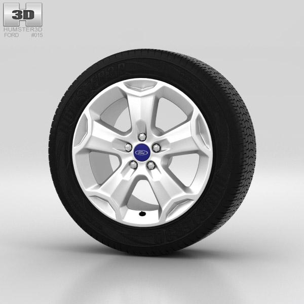 Ford Kuga Wheel 18 inch 001 3d model
