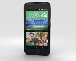 3D model of HTC Desire 320 Meridian Gray