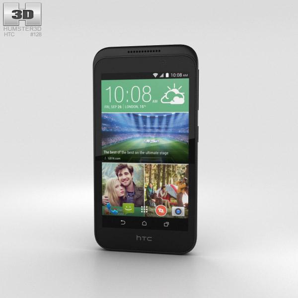 HTC Desire 320 Meridian Gray 3D model