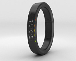 3D model of Nike+ FuelBand SE Black