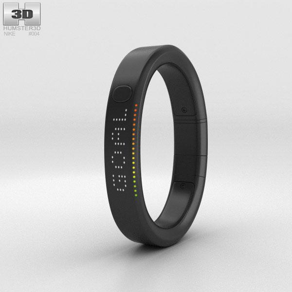 3D model of Nike+ FuelBand SE Black
