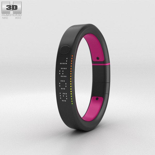 3D model of Nike+ FuelBand SE Pink Foil