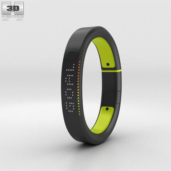 Nike+ FuelBand SE Volt 3D model