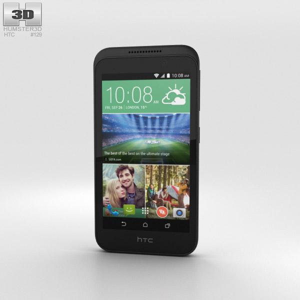 HTC Desire 320 Vanilla White 3D model