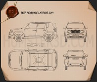 Jeep Renegade Latitude 2015 Blueprint