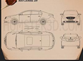 Buick LaCrosse 2011 Blueprint