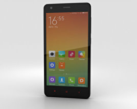 3D model of Xiaomi Redmi 2 Black