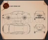 Buick Verano 2012 Blueprint