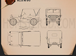Willys MB 1941 Blueprint
