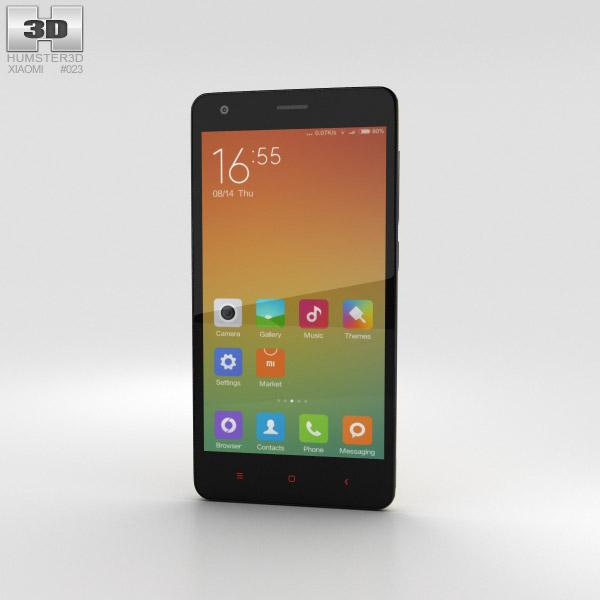 Xiaomi Redmi 2 Yellow 3D model