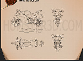 Yamaha YZF-R125 Blueprint
