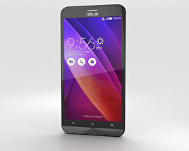 3D model of Asus Zenfone 2 Glacier Gray