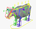 Cow HD 3d model